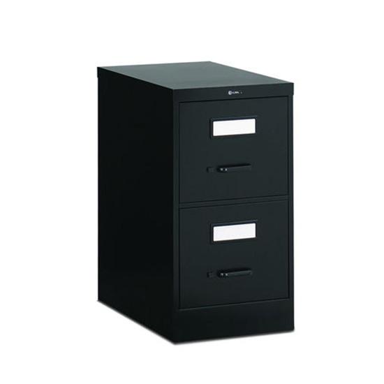 2 Drawer Black Vertical File (Legal)