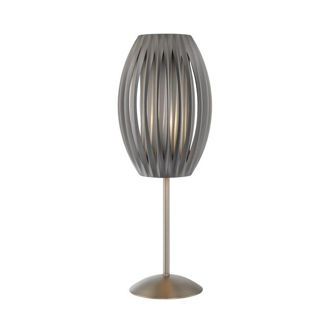 Silo Grey Table Lamp