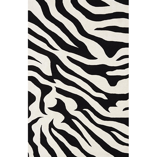 Safari Black Rug