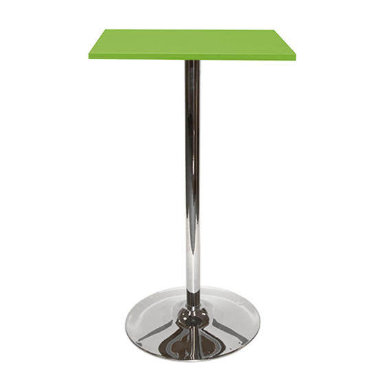Spectrum Bar Table With Tulip Base - Green